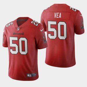 Tampa Bay Buccaneers Vita Vea 2020 Red Jersey